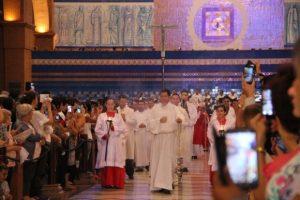 Celebração marca promulgação do título de Igreja-Catedral ao Santuário Nacional