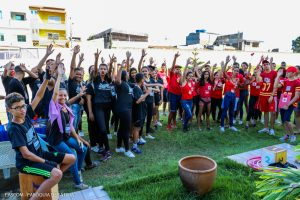 GINCANA DA JUVENTUDE: Jovens da Paróquia Nossa Senhora de Fátima realizam ato solidário em Itabuna