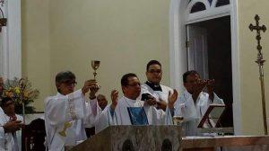 Visita de Dom Carlos à Paróquia de São Boaventura em Canavieiras
