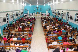Visita de Dom Carlos a Paróquia de Santo Antônio em Itororó