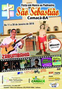 Camacã: Festejos do Padroeiro São Sebastião