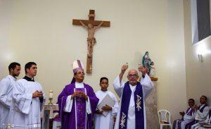Posse Canônica do Padre José Alberto Fonseca Kruschewsky na Paróquia Senhora Santana em Floresta Azul