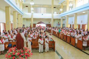 1º ENCONTRO DIOCESANO DO APOSTOLADO DA ORAÇÃO E MEJ FOI REALIZADO EM ITABUNA