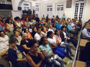 Sessão extraordinária na câmara Municipal de Vereadores em comemoração aos 300 anos da paróquia de São Boaventura de Canavieiras