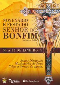 COMEÇA HOJE A FESTA DO SENHOR DO BONFIM EM ITABUNA