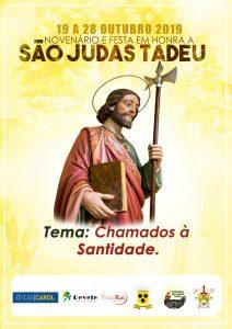 Vai iniciar o Novenário de São Judas Tadeu 2019