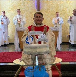 Jubileu de Prata do Padre Renaldo Jacinto Júnior