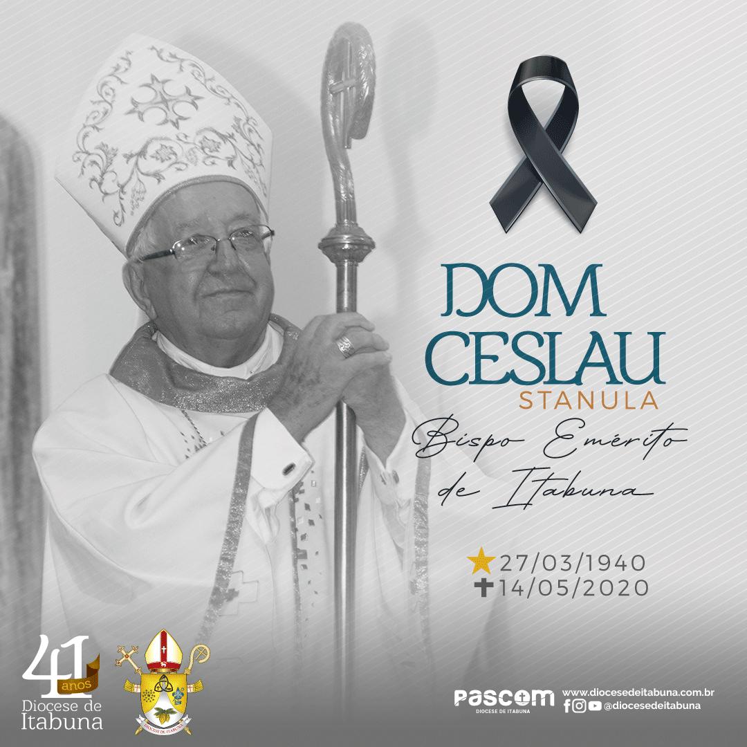 Nota de falecimento: Dom Czeslaw Stanula, bispo emérito de Itabuna