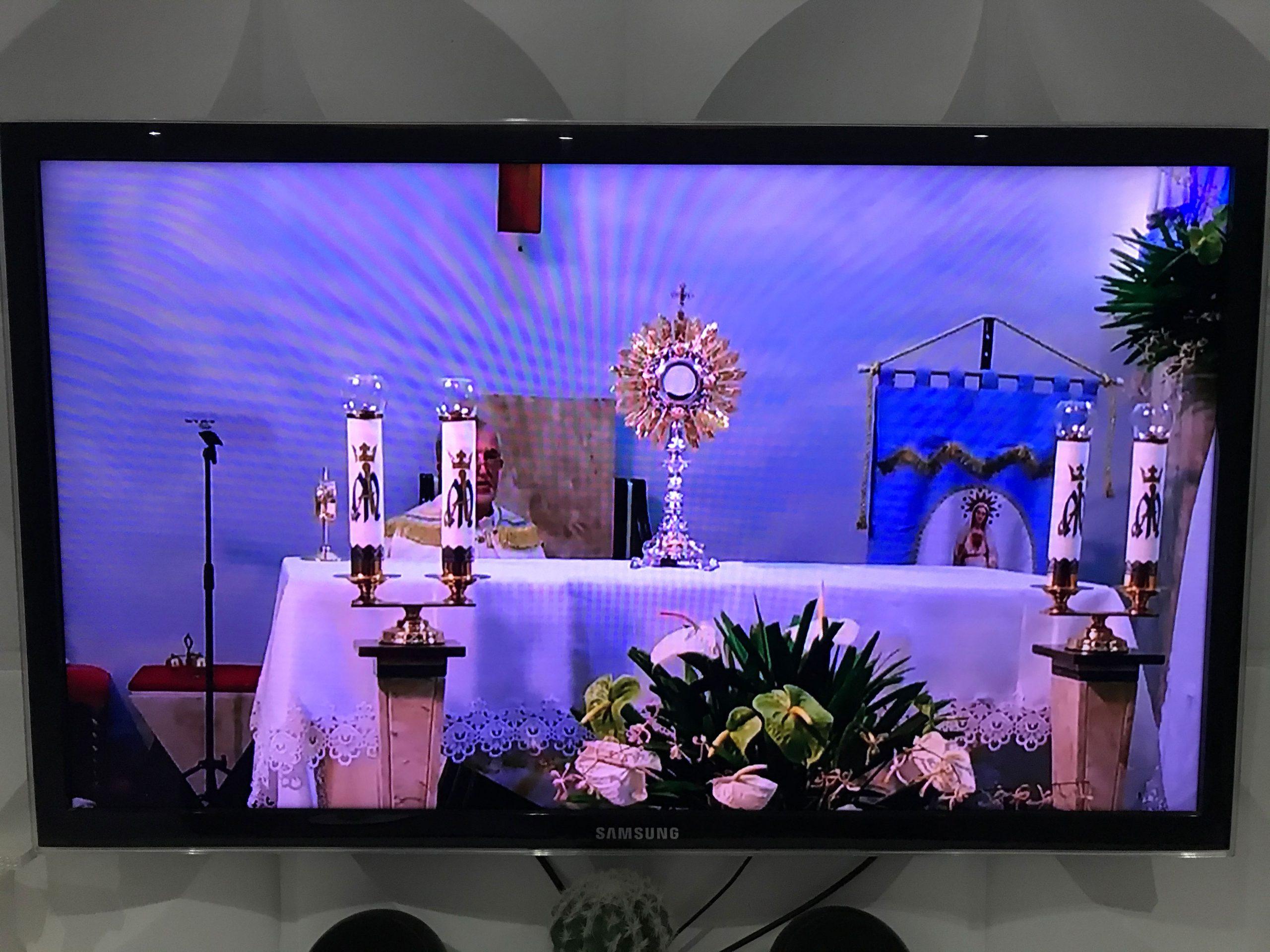 Começou a novena da Paróquia Nossa Senhora de Fátima AO VIVO