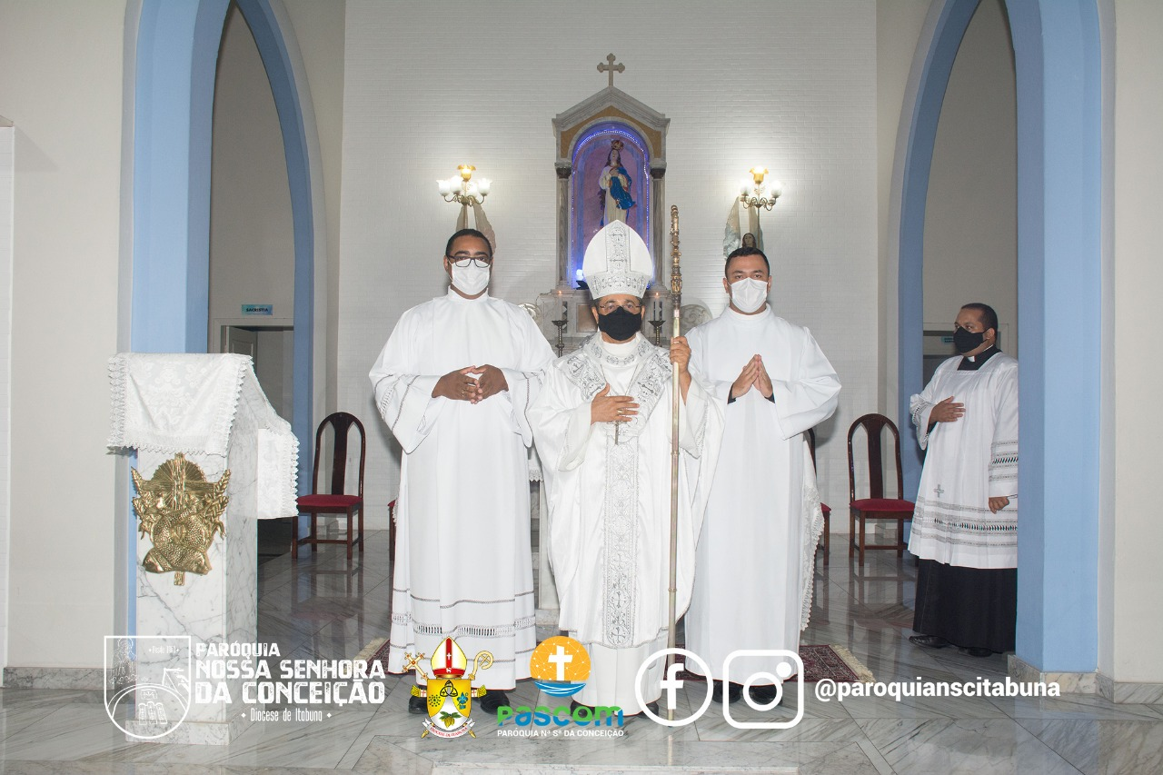 Solenidade de Admissão às Ordens Sacras dos seminaristas Ítalo e Pedro