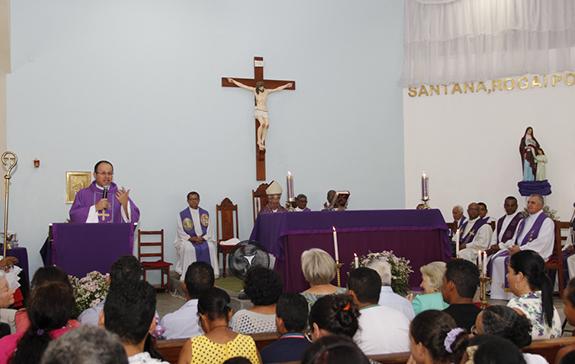 Posse de Pe. Elessandro na Paróquia Senhora Sant'Ana em Buerarema