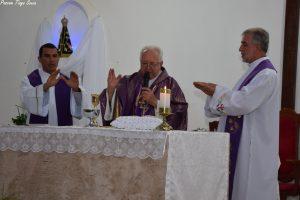 Apresentação do Administrador e o Vigário da Paróquia de Nossa Senhora Aparecida