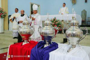 Quinta-feira Santa: Missa dos Santos Óleos, do Crisma e da Unidade na Diocese de Itabuna