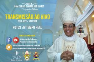 ASSISTA AQUI AO VIVO A POSSE DO 5º BISPO DIOCESANO