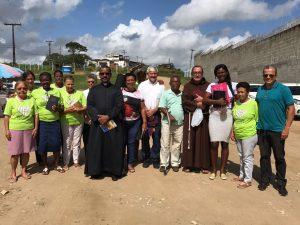Abertura da Semana Santa com os detentos do presídio de Itabuna pela Pastoral Carcerária