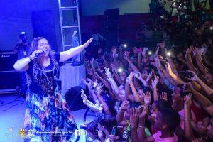 Show de Celina Borges em Buerarema