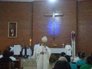 Visita de Dom Carlos á Paroquia Santa Maria Madalena, Bairro Nova Itabuna
