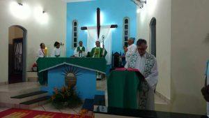 Visita de Dom Carlos Alberto a Paróquia de São Sebastião em Mascote-BA.