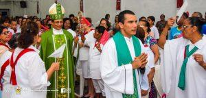 Visita de Dom Carlos a Paróquia de Nossa Senhora Aparecida