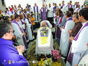 Missa e enterro do anjo bom de Itabuna, frei Joaquim Camelli