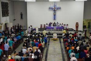 Missa e Velório do Frei Joaquim Camelli na Paróquia Santa Rita