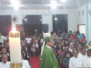 Visita de Dom Carlos a Paróquia de Santo Antônio em Firmino Alves