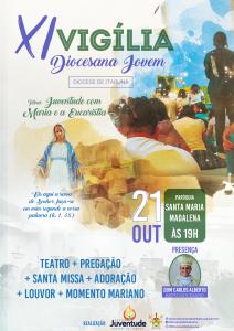 Vai acontecer a XI Vigília Diocesana Jovem em Itabuna