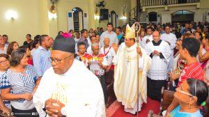 Posse Canônica do Monsenhor Moizés de Souza na Paróquia de Santa Luzia-Santa Luzia