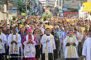 Procissão de São José reúne fiéis pelas ruas de Itabuna