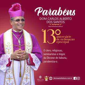 Aniversário de Ordenação Episcopal de Dom Carlos Alberto