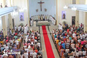 Missa em ação de graças pelos 41 anos da Diocese de Itabuna